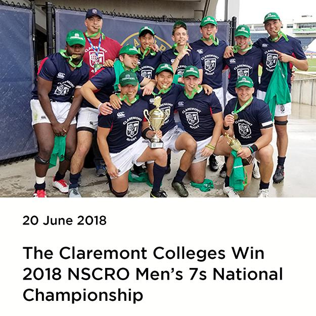 2018 NSCRO Men's 7s National Champions, The Claremont Colleges