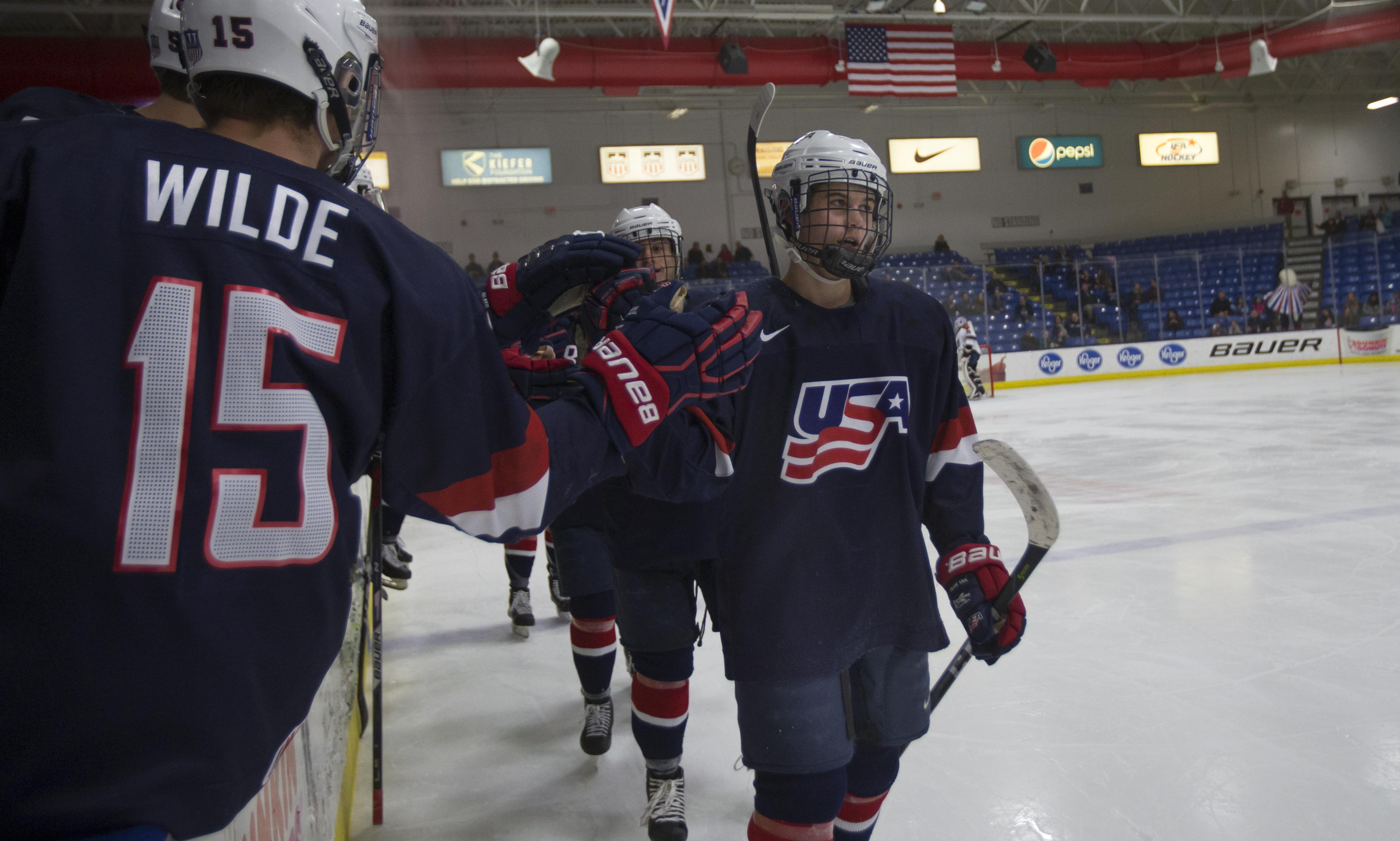 22 Players With Ntdp Ties Invited To World Junior Summer Showcase