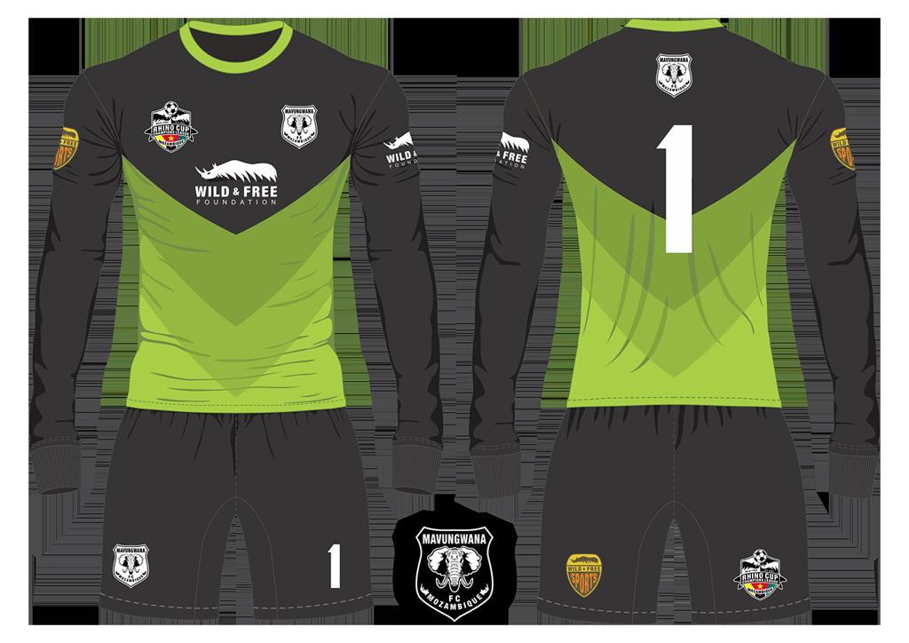Mavungwana FC Elephants Goalkeeper Kit RCCL 2019
