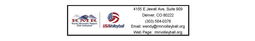 rocky mountain region volleyball