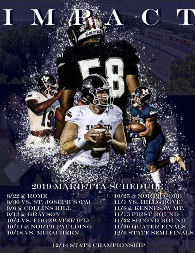 Marietta High School Blue Devil Football