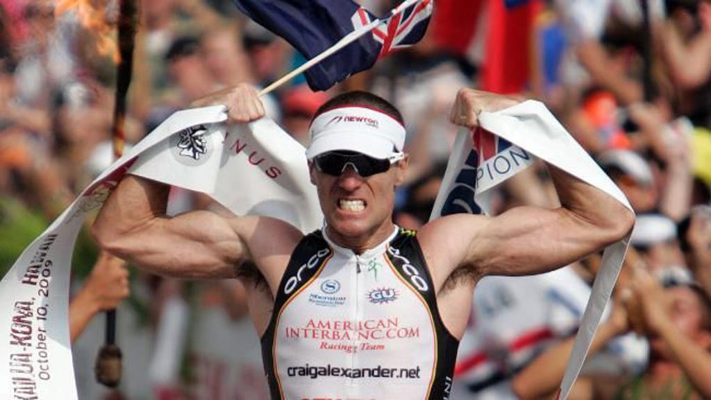 Australia's Craig Alexander, who took home his first IRONMAN championship in 2008