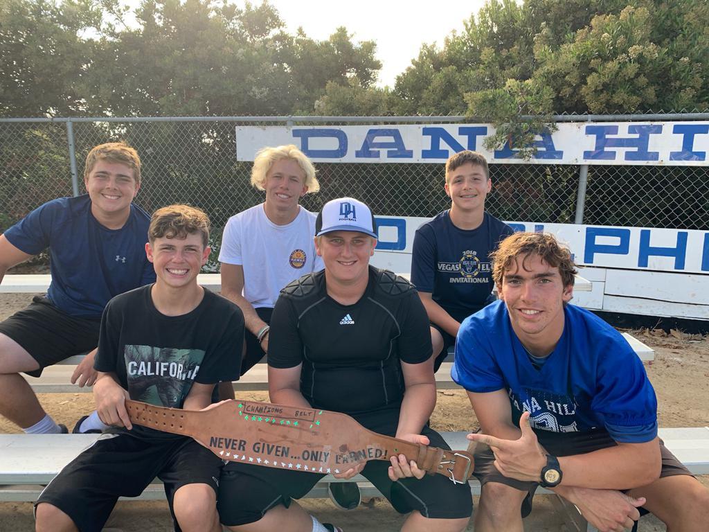 2019 Dolphin Camp Champions! GO DANA