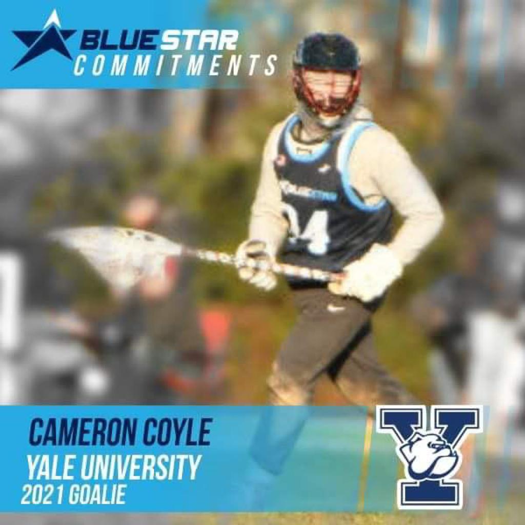 Cam Coyle Blue Star Lacrosse Yale