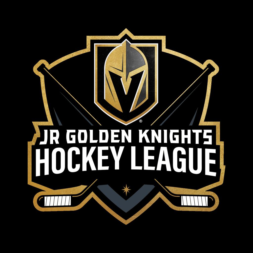 Jr Golden Knights Hockey League logo