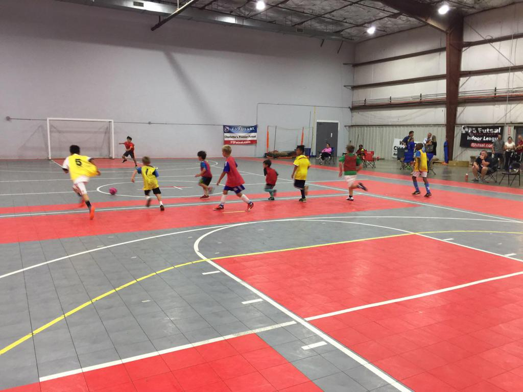 Charlotte Futsal Training