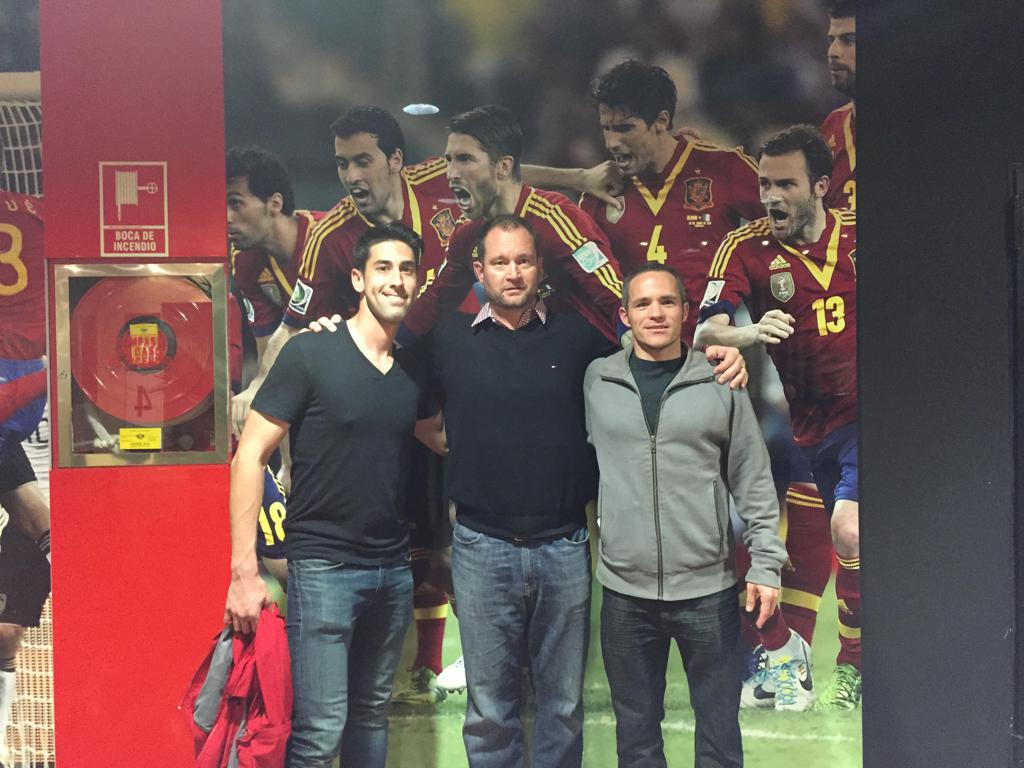 Coaching Director Tojaga at the Spanish National Team Training Center