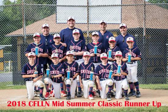 Cuyahoga Falls Mid Summer Classic Tournament - Runner Ups