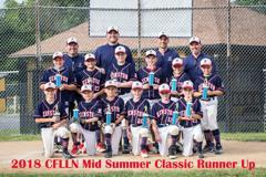 Cuyahoga Falls Mid Summer Classic Tournament - Runner Ups