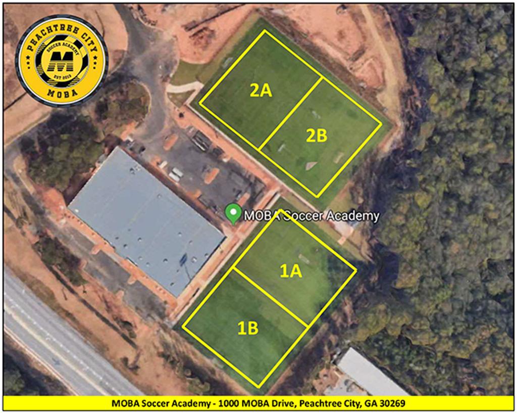 MOBA Soccer Academy Fields