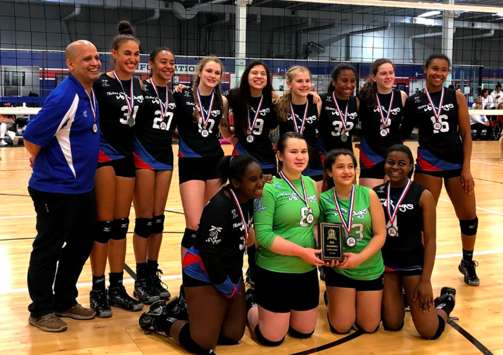 TEAM VB RAGS 14 Carly -- Places 2nd in GEVA Regionals Finals