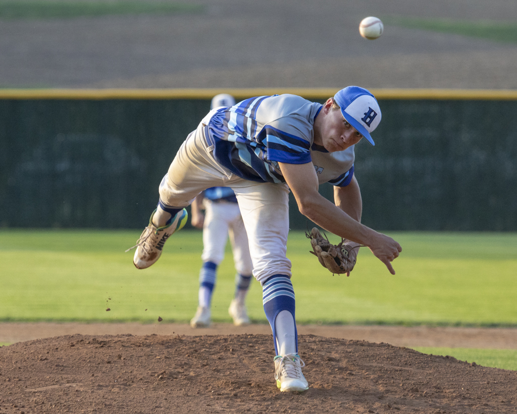 Heritage Christian's Seth Halvorsen was named Minnesota's 2018 Mr. Baseball. Photo by Jeff Lawler, SportsEngine