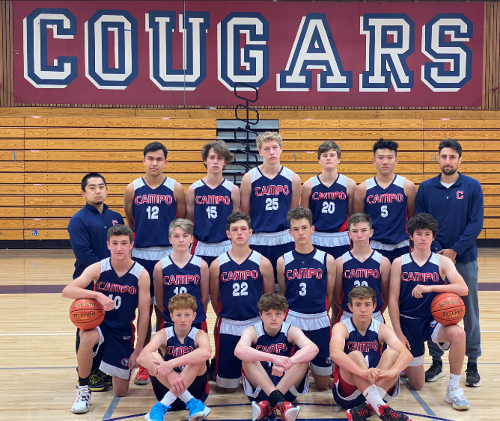2021 Campolindo Freshman Basketball Team