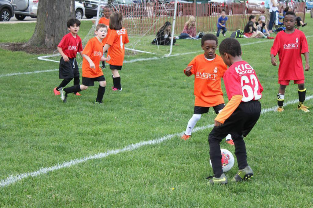 Chicago Community League Soccer Game