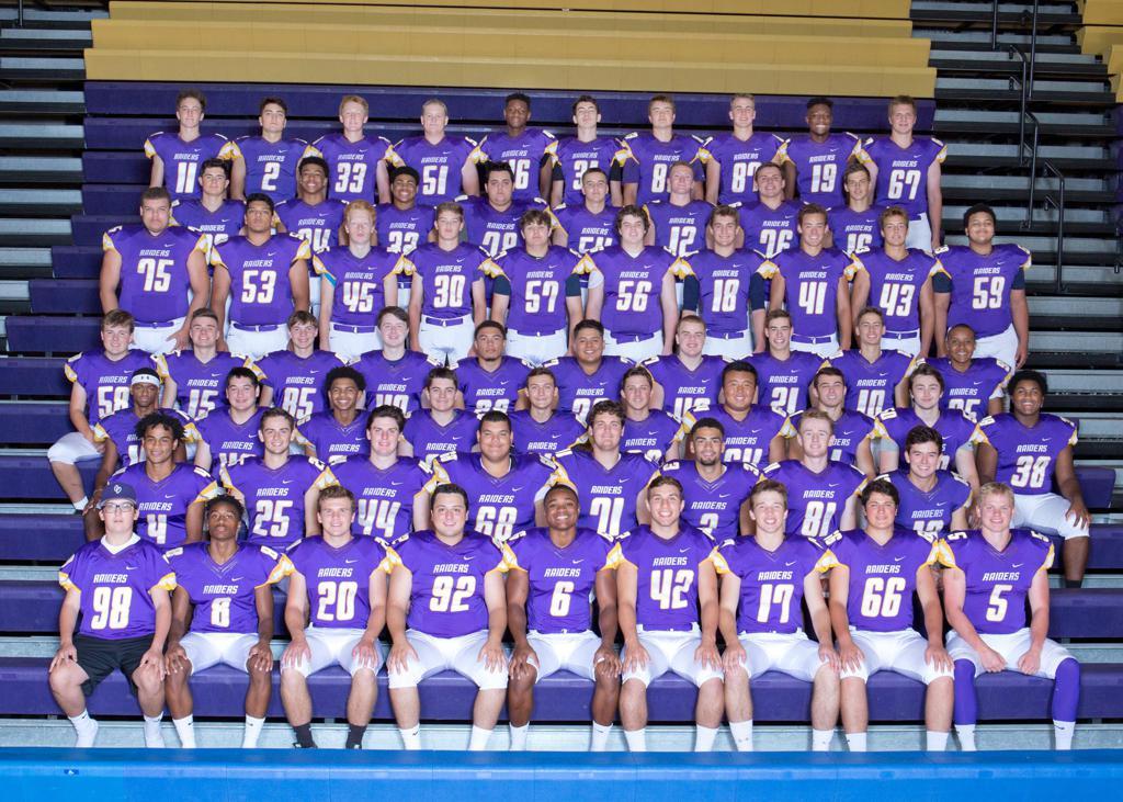 2018 Raider Varsity Football