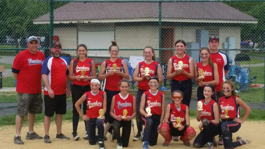 Spring 2019 Witches Swing for the Fences Tournament 2nd Place