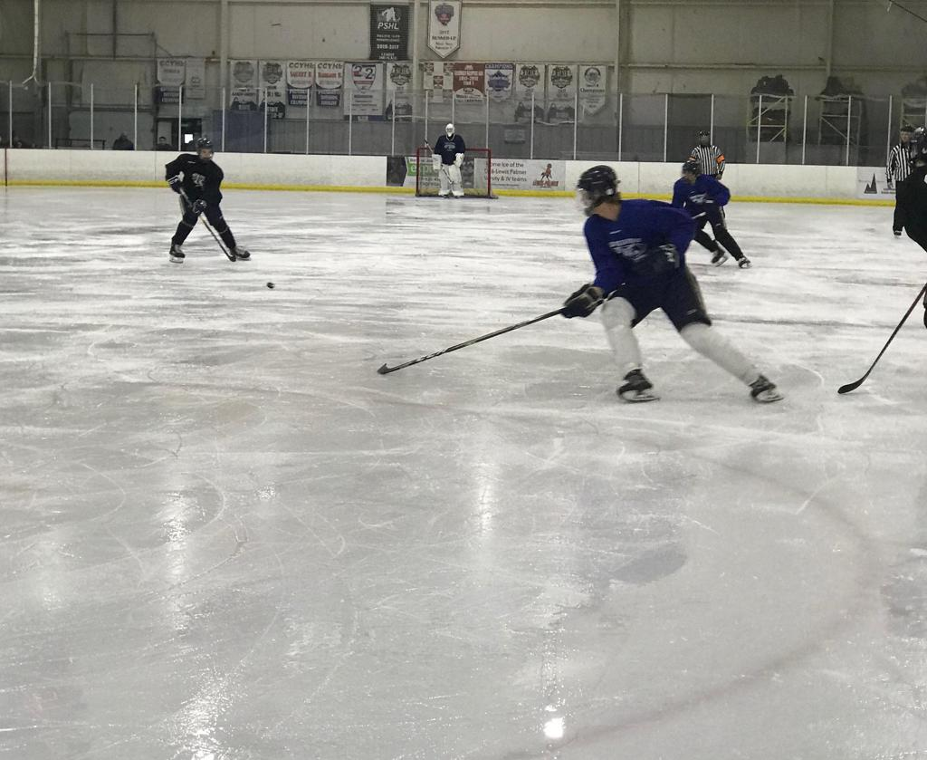 Bryce Cooper Hockey Colorado Rampage National Camp
