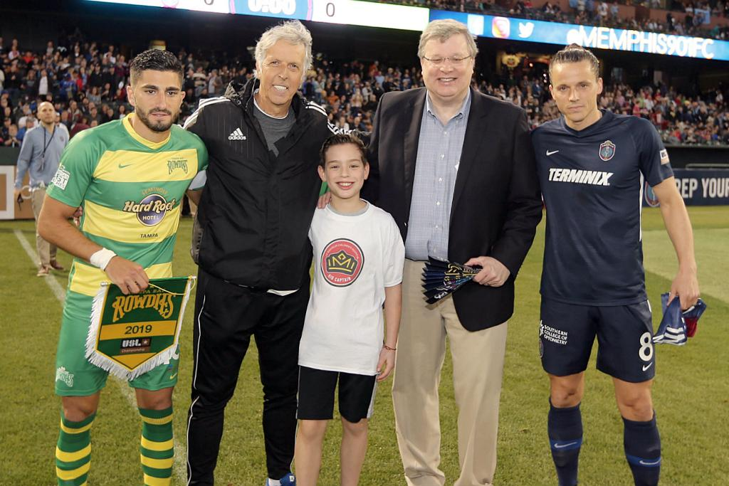 901 FC Honorary Captain