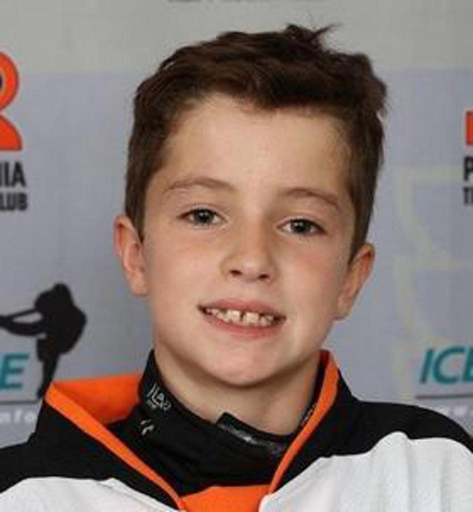 Jr. Flyers announce Squirt Spotlight for week ending January 13 featuring Jake Weingartner