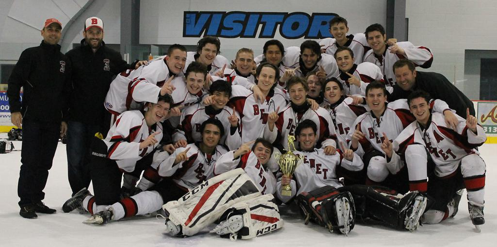 Benet Hockey Back to Back Champs!