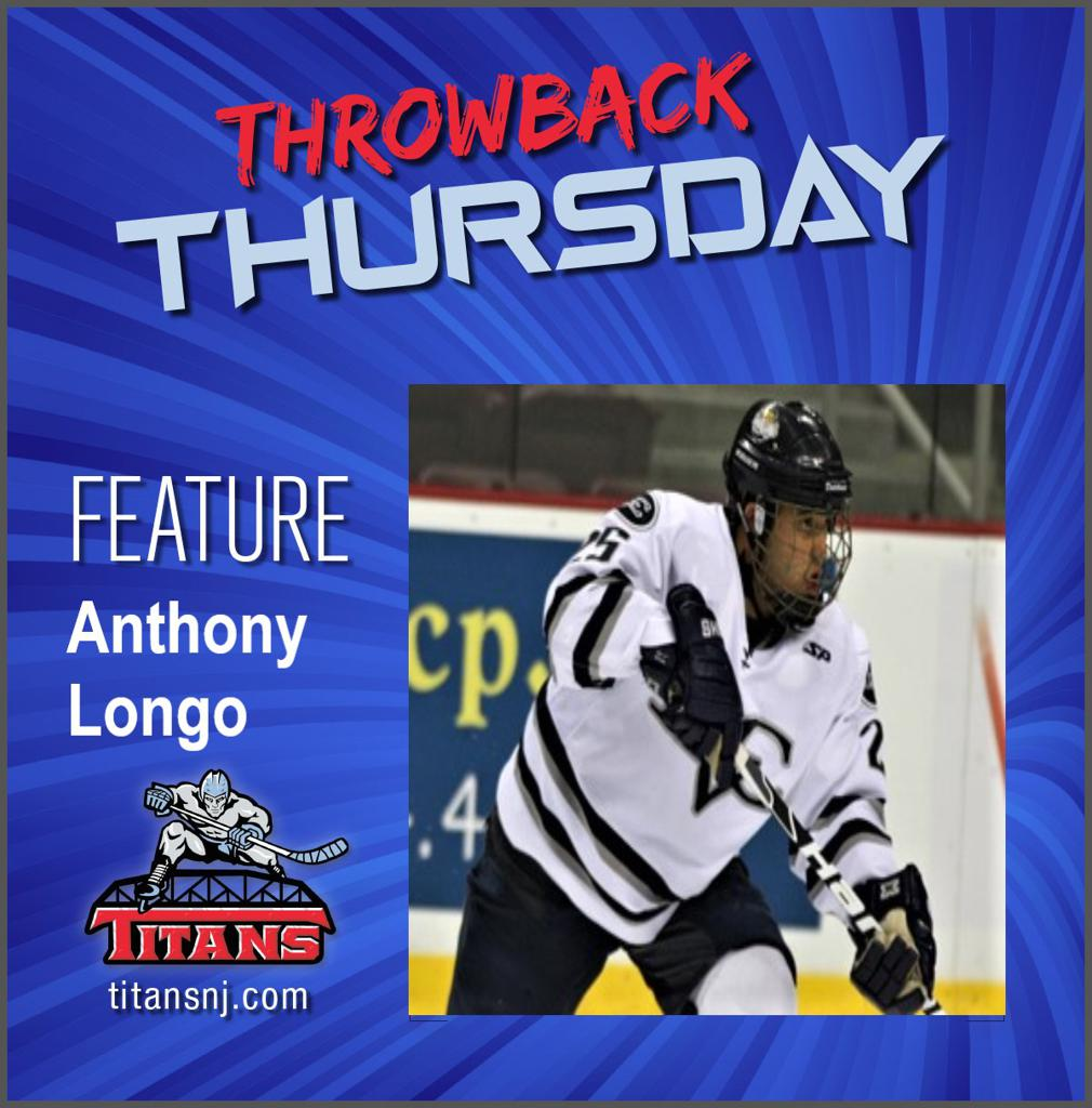 May 14, 2020 Throwback Thursday edition features Anthony Longo