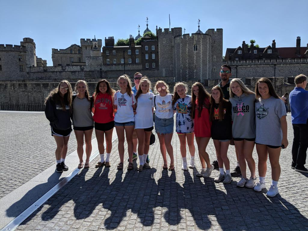 2018 Tour Team @ Tower of London