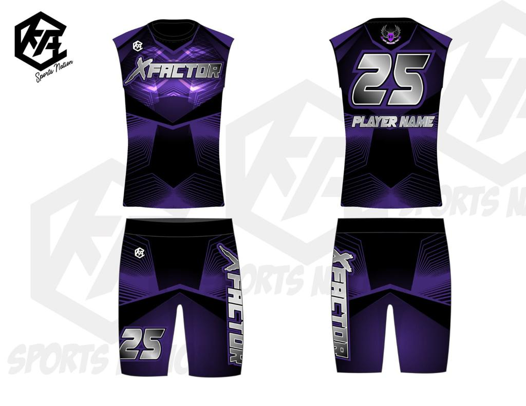XFA 7on7 uniforms