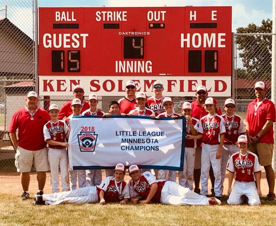 CRALL 12's - MN State Champs