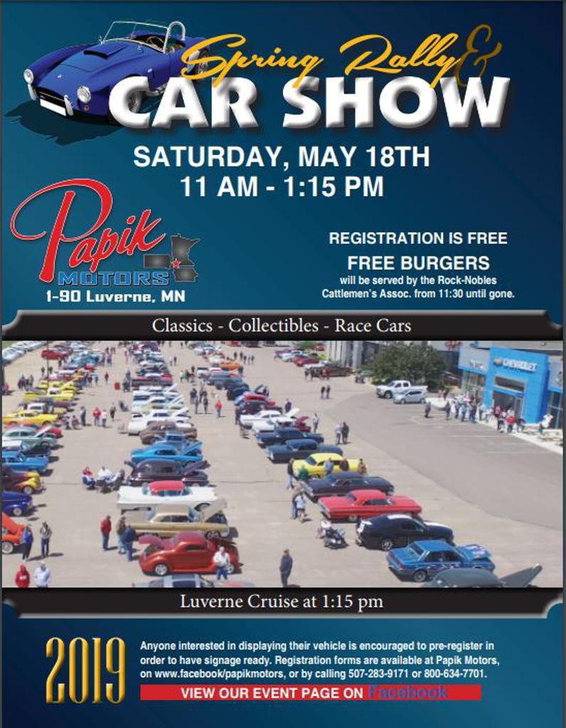 Papik Motors Spring Rally Car Show