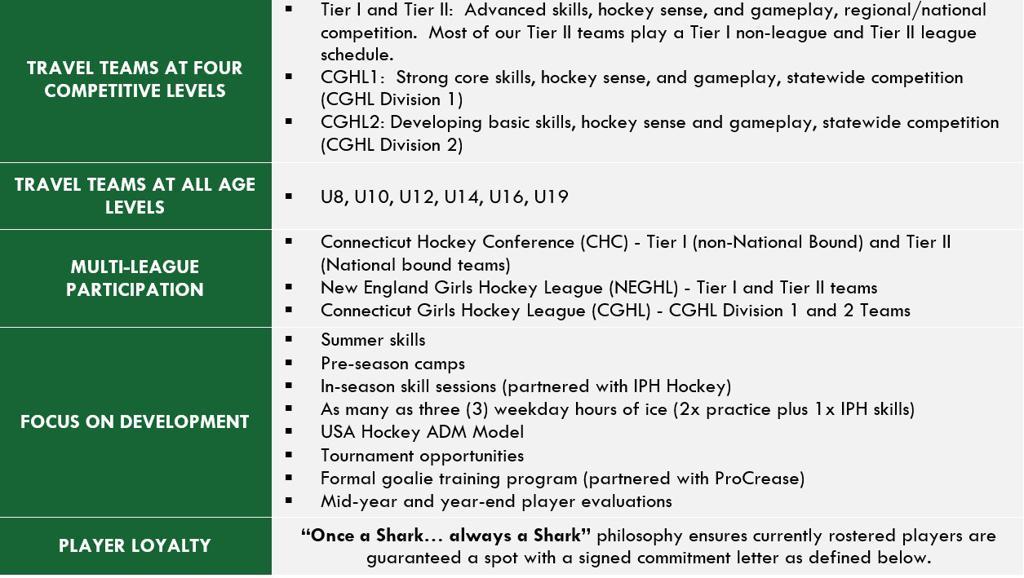 Travel Hockey Program Overview