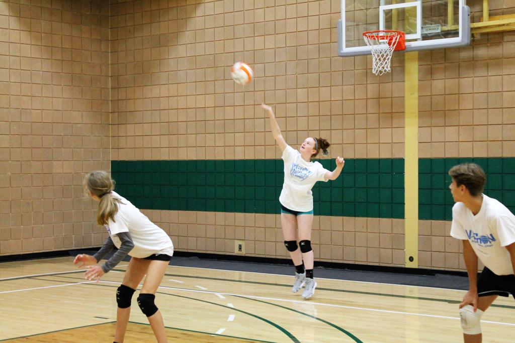 Girl Volleyball