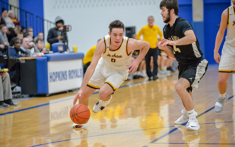 Perham, which hasn't lost since Dec. 1, seeks its first state tournament berth since 2013. The Yellowjackets' regular-season finale against Pequot Lakes will provide a good benchmark before the playoffs begin. Photo by Earl J. Ebensteiner, SportsEngine