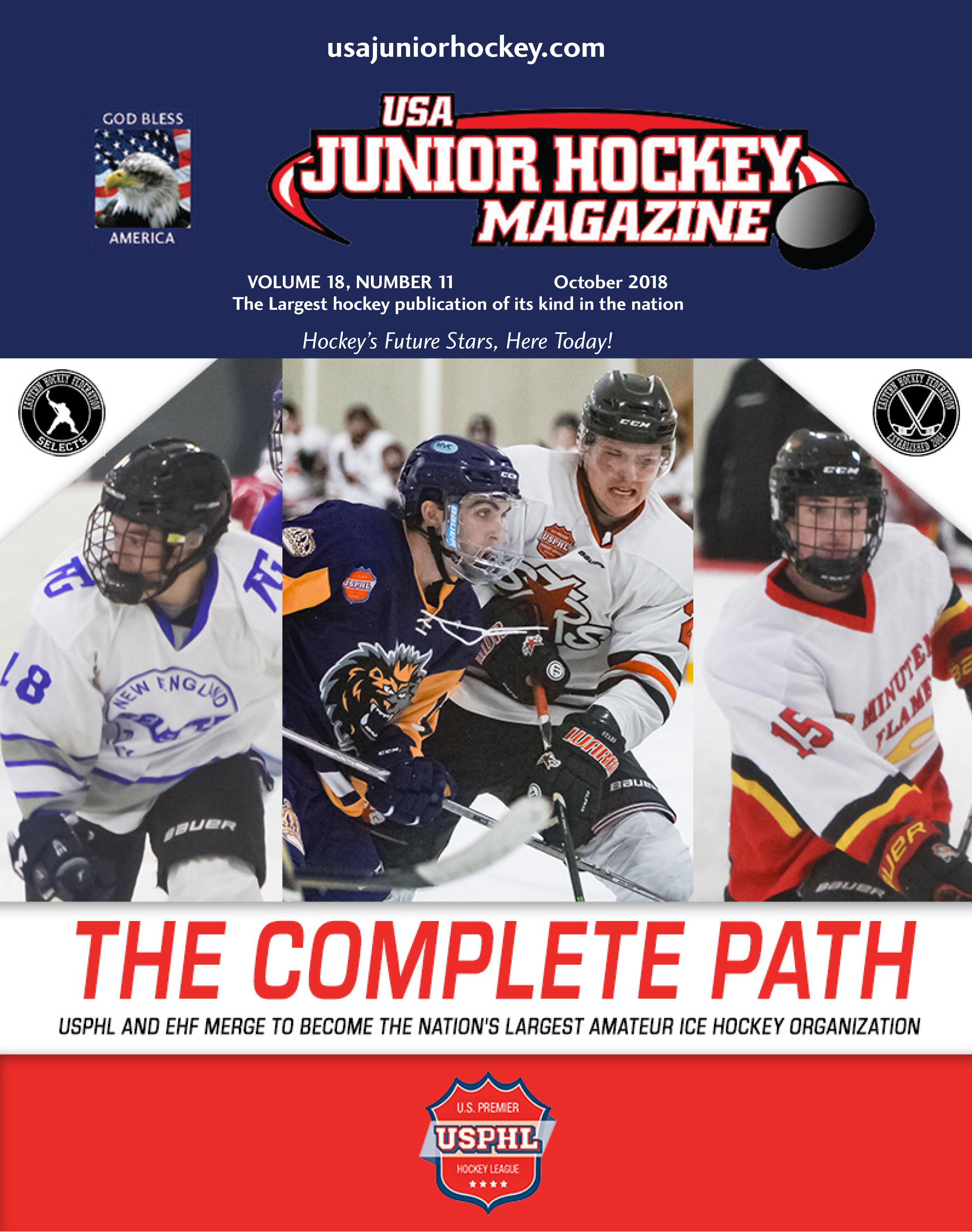 Usa Junior Hockey Magazine Features The Usphl The Complete Path