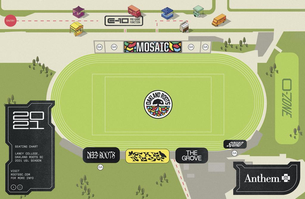 2021 Stadium Map
