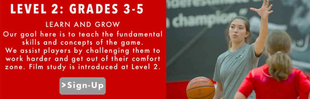 LEVEL 2 GRADES 3-5 AAO ASST BASKETBALL TRAINING