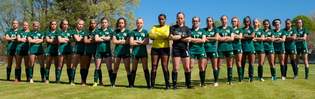 enloe women's varsity soccer team photo