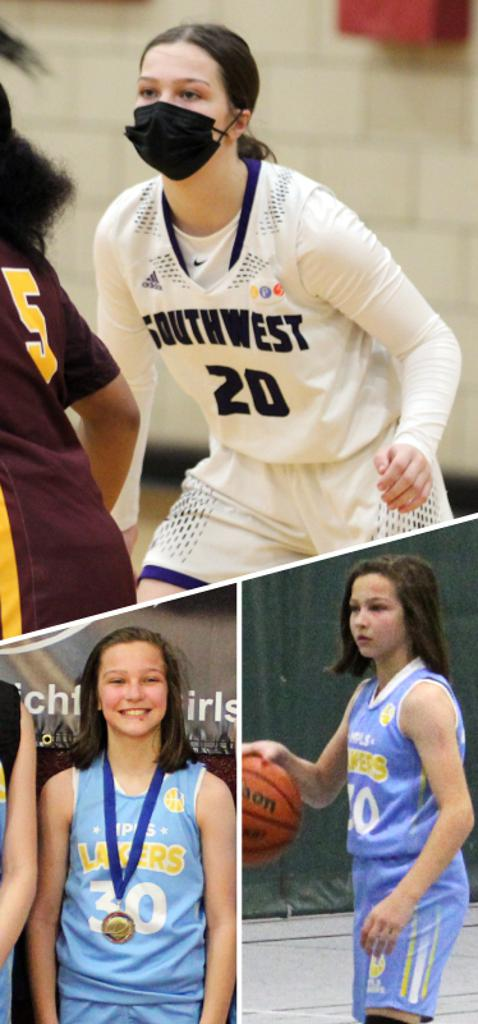 Sylvi Barnes Southwest Lakers Class of 2023  Mpls Lakers 2016-2018