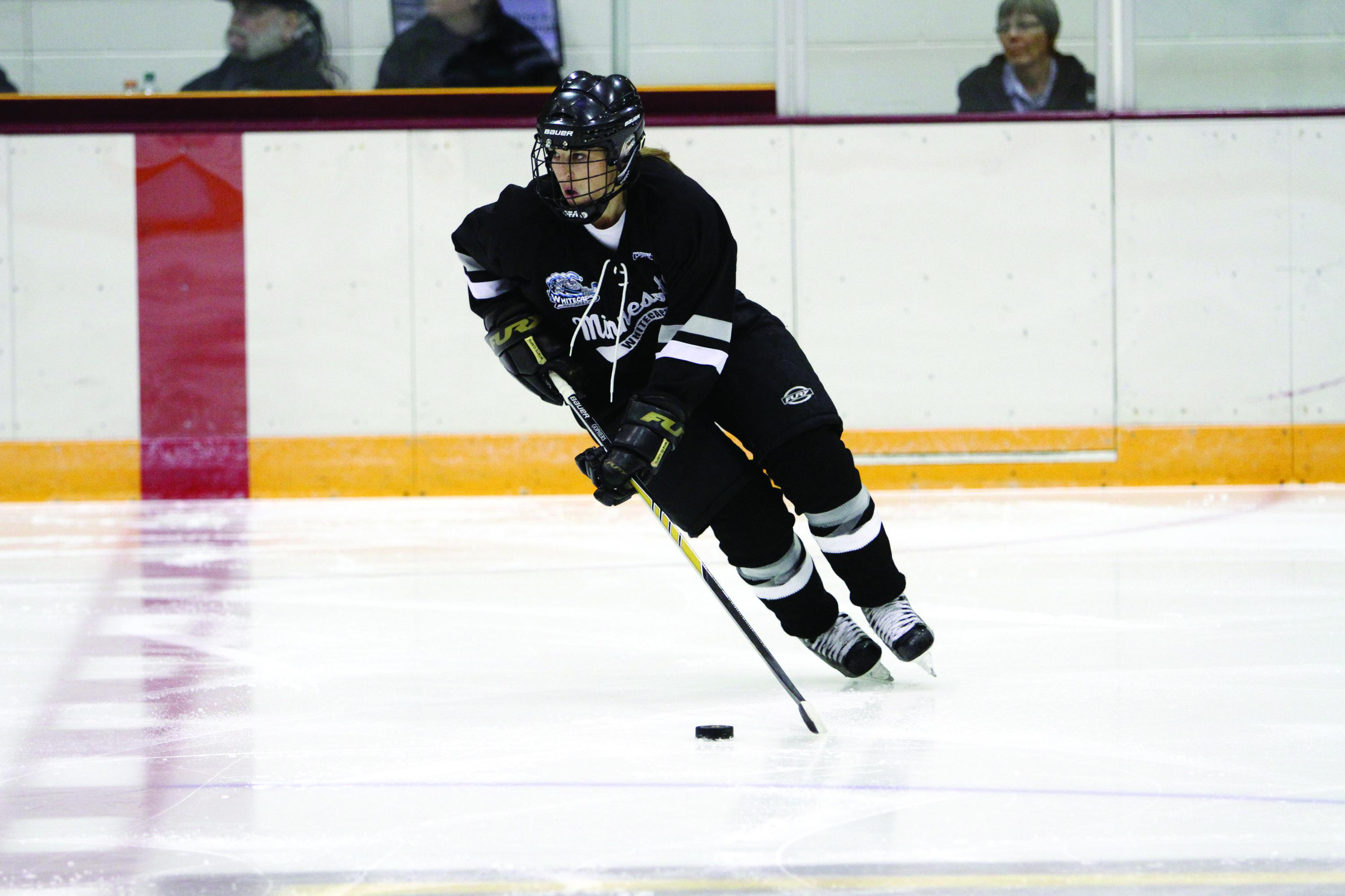 Minnesota Whitecaps getting set for inaugural NWHL season
