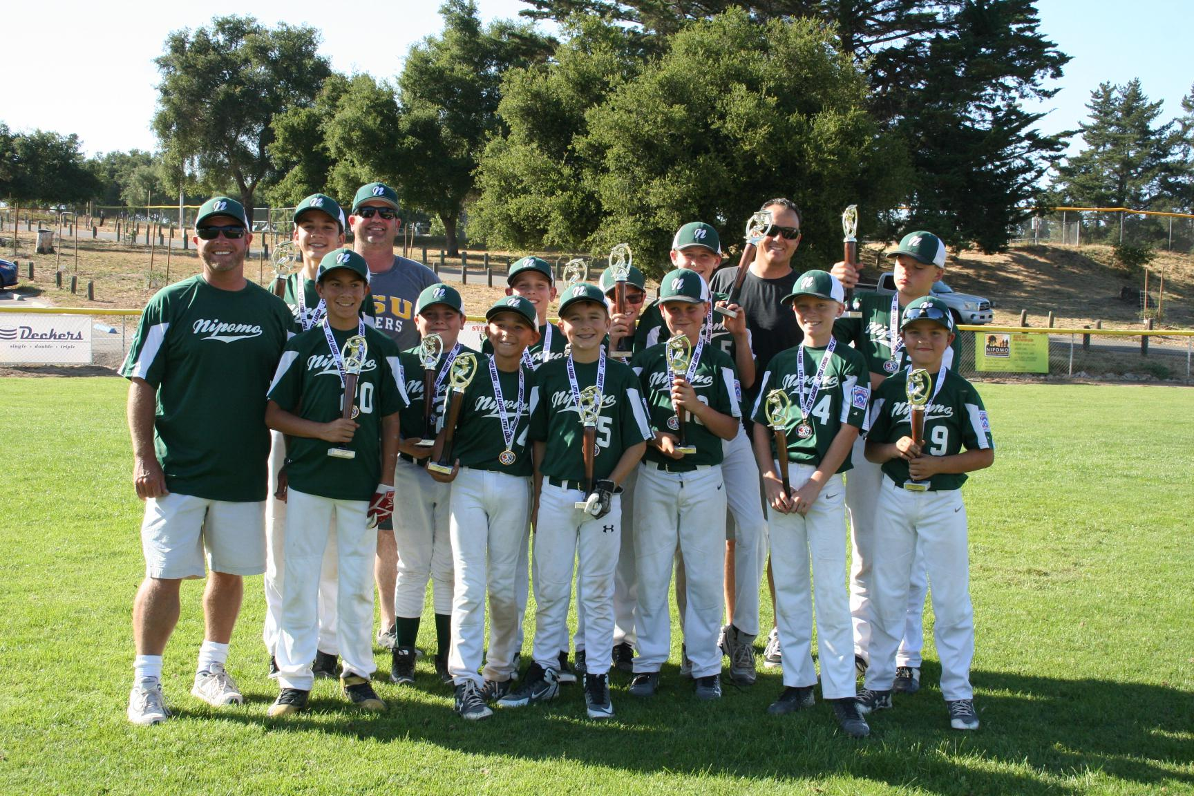 2018 NLL Majors Division 2nd Place - Mustangs
