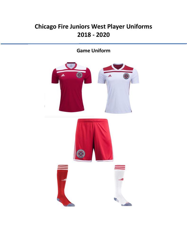 bda929433 CFJ West Uniforms 2018-2020