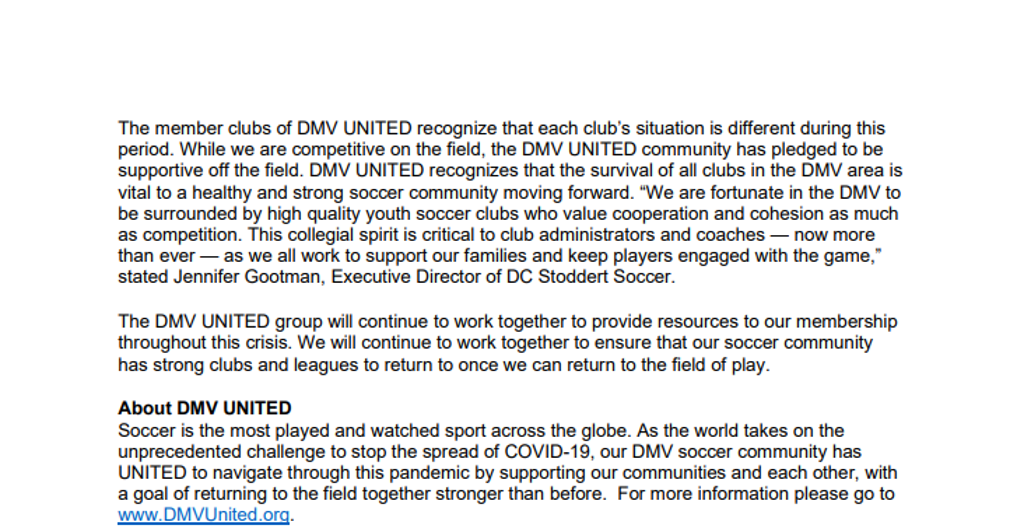 DMV United Release Page 2