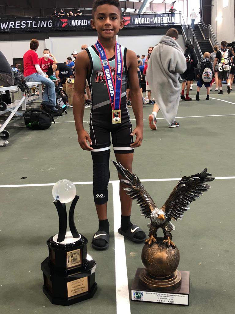 Cameron Rodgers - Reno Worlds Champion, Outstanding Wrestler and making the World of Wrestling All-Start Team!