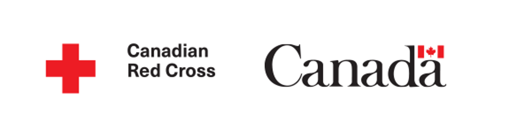 Canadian Red Cross and Government of Canada logos