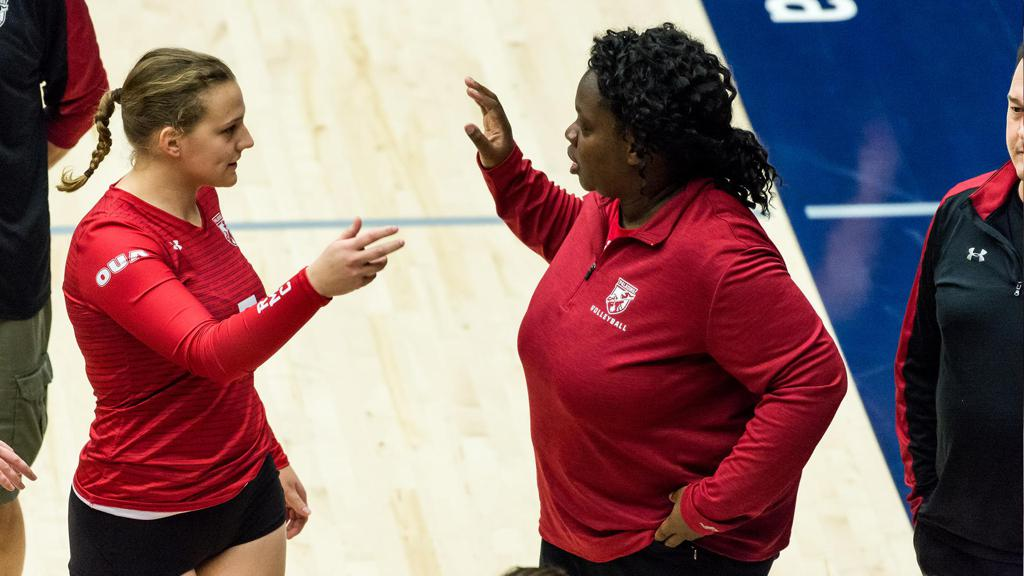 Joely Christian - Head Coach of RMC Paladins Women's Volleyball