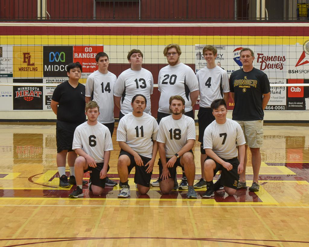 2021 Rangers Boys Volleyball Team