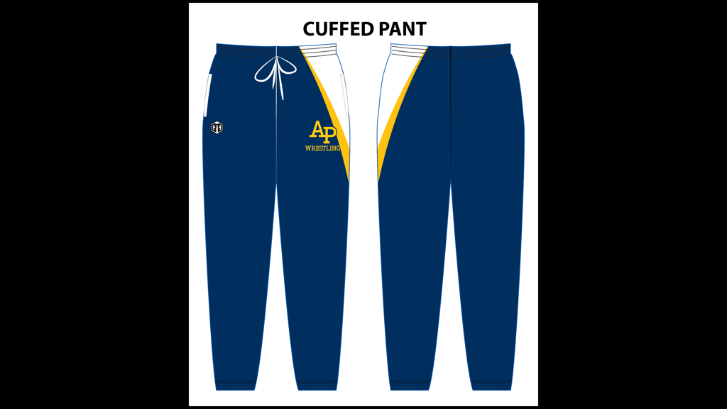 AP Cuffed-Sweat Pants