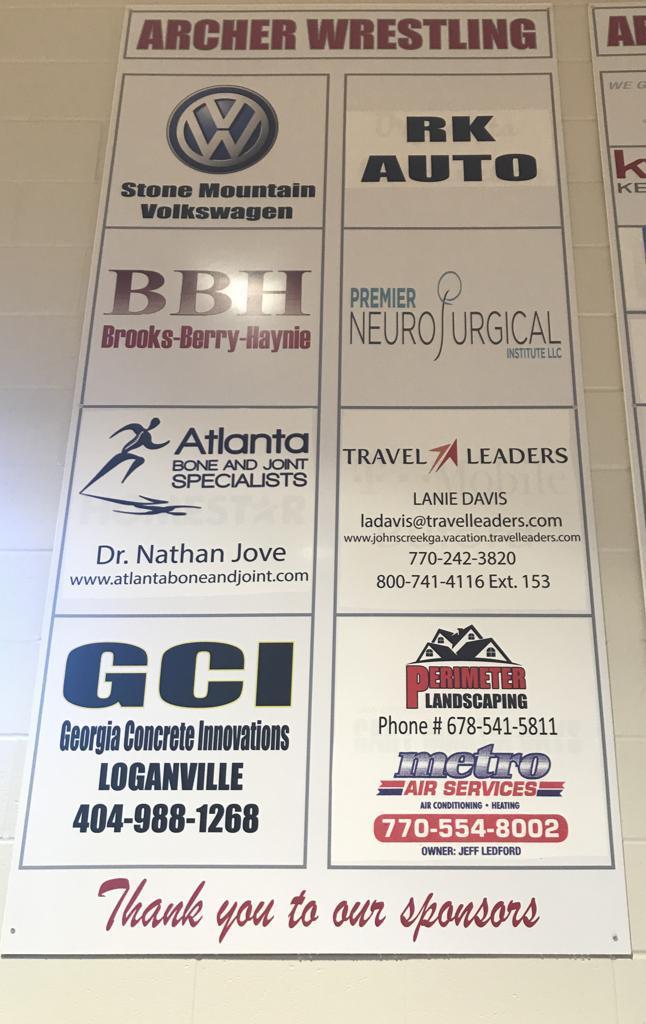 Corporate Ad Boards