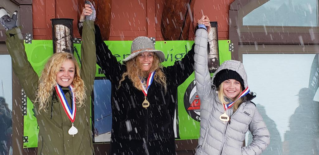 Rocky Mountain Ski Racing finish 2nd and 1st in Wilder Dwight Speed Series Super G on Monday, January 21 at Aspen Highlands.