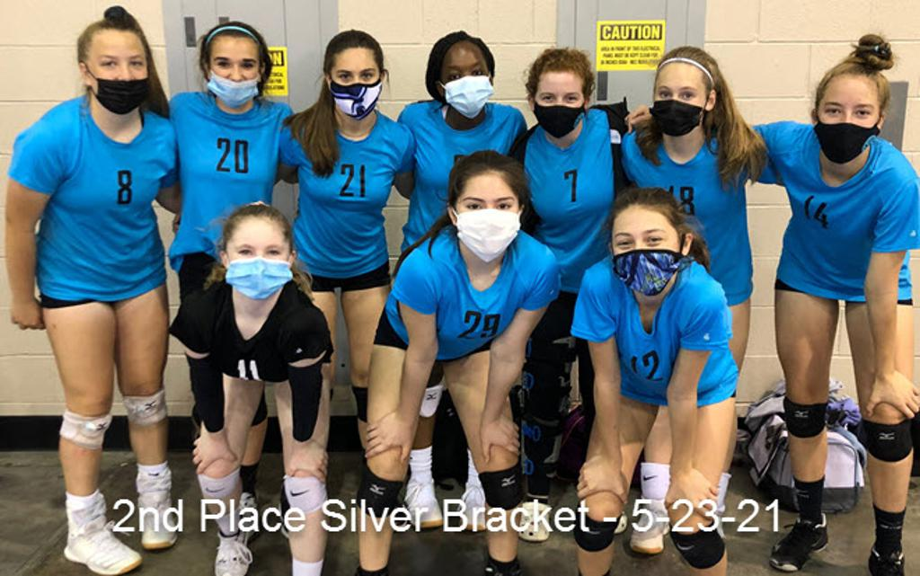14 Teal - 2nd Place Silver Bracket - 5-23-21