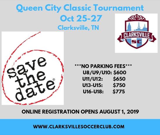 Clarksville Soccer Club Tournaments
